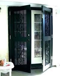 mobile home security door sliding doors screen storm parts screen door sizes exterior full size of mobile home