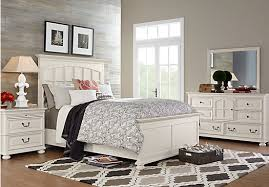 Distressed Off White Bedroom Furniture – Freight Interior
