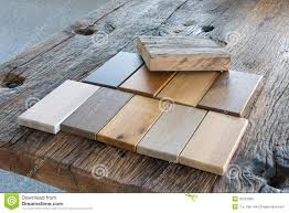 kinds of wood for furniture. Samples Of Different Kinds Wood In A Furniture Shop For