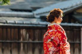 結婚式で華やぐ和装の髪型丸顔さんに似合うのは 京都タガヤ和婚礼