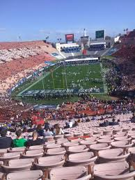 Los Angeles Memorial Coliseum Section 313 Home Of Usc