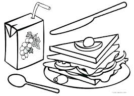 Junk Food Coloring Pages Related Pictures Junk Food Coloring Pages