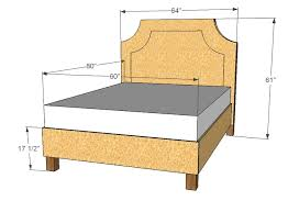 Good Dimensions A Queen Size Bed Headboard 66 About Remodel