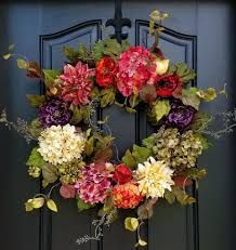 summer wreaths for front doorFront Doors  Zoom Fall Front Door Wreaths Fall Wreaths For Front