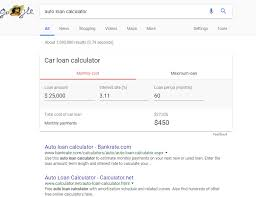 New Google Search Features From August Loan Calculators