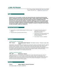 objectives for jobs template for a cv teachers position teacher job resume sample