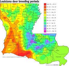 Buck Breeding Calendar Most Complete Ever Louisiana