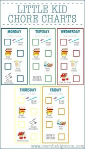 Keeping Chores Simple Includes Free Template Printable Picture Chore