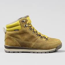 the north face back to berkeley redux leather boots olive oil brown