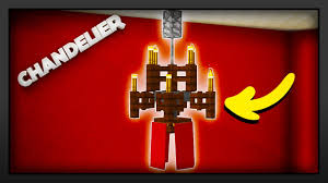 minecraft how to make a chandelier