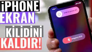 iPhone Ekran Kilidi Kaldırma - YouTube
