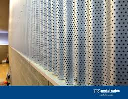 perforated corrugated metal wall panels rug designs within remodel 9