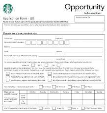 Generic Employment Application Form Sample Employment Application Template Free Sample