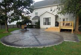Brilliant Simple Concrete Patio Design Ideas Garden Decors