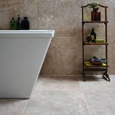 Burlington Limestone Earth Riven Stone Effect Ceramic Wall & Floor Tile,  Pack of 4, (L)498mm (W)498mm