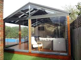 enclosed patio designs pictures collection in outdoor ideas kitchen enclosed patio