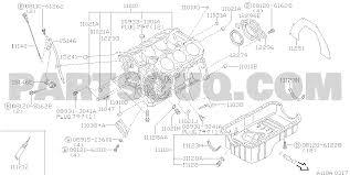 110a 001 cylinder block oil pan