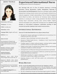 30 Beautiful Sample Resume For Staff Nurses In The Philippines