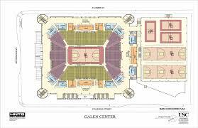 Galen Center Floor Plan Stadium Architecture How To Plan