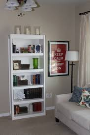 Bookshelves Basics Of Beautiful Bookcase Arranging  Teak Hanging - Homemade decoration ideas for living room 2