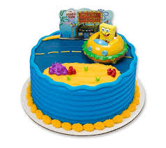Spongebob Krabby Patty Cake Decoset Decorating Birthday Cake