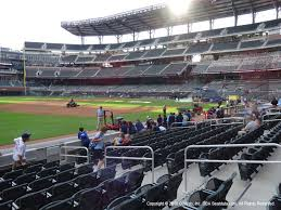 Suntrust Park View From Dugout Reserved 37 Vivid Seats