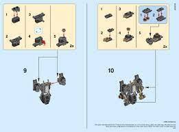 Building Instructions - LEGO 30379: Quake Mech Micro Build - Book 1