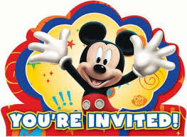 mickey mouse party invitation mickey mouse party invitations 8pk