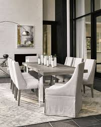 Glass top dining tables Rectangular Tramezza Dining Table Horchow Dining Tables Outdoor Glasstop Dining Table At Neiman Marcus