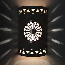 Ceramic Light Covers Dreamcatcher Copper Cover Tribal Drum Border Taupe Wash Silver Mica Indoor Outdoor 14 Open Top Half Round