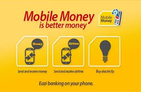 Image result for image of MTN mobile money