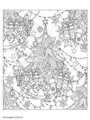 Download our free printable coloring book pdf downloads for hours of coloring fun. 45 Free Christmas Coloring Pages For Adults 2017