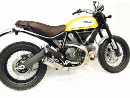 austin racing ducati scrambler 400 800 de cat exhaust mx alliance