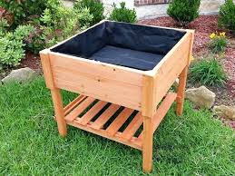 elevated garden bed plans s diy vegetable beds raised on legs