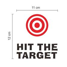 hit the target bathroom toilet decal