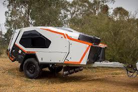 track trailer tvan mk5 off road camper