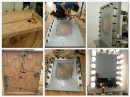 How To Make A Makeup Vanity Mirror With Lights