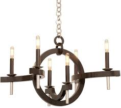 kalco lunaire 6 light chandelier from the lunaire collection