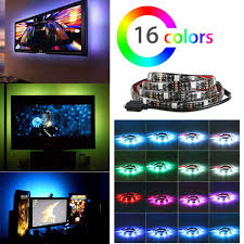 Vansky Bias Lighting Manual Linkstyle Led Tv Bias Lighting Backlight Strip Multi Amazon