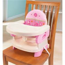 chair booster seat. summer infant® deluxe comfort booster seat - pink chair