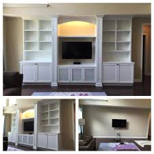 Living Room Built In Cabinets Custom Built Ins Carpentry Plus
