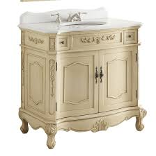 36 inch bathroom vanity traditional style cream color 36 wx21 dx35 h cbc3905wlt36