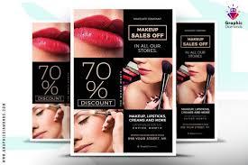 20 Creative Cosmetic Flyer Templates Designs 2019