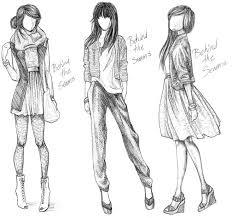 Sketching Clothing Sketches Of Clothing Hashtag Bg