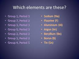 The Periodic Table L.O: To understand what is meant by an atom and ...