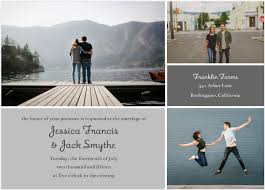 collage wedding invitations top 10 new wedding invitations featuring photos mixbook inspiration