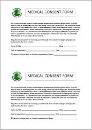 Medical Consent Letters - Kleo.beachfix.co