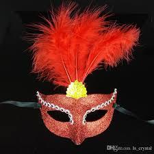 Mask Decorating Supplies Bright Color Masquerade Women Mask Half Face Venice Bar Party 68