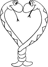 Small Picture Snake Coloring Pages