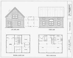 file 150877773416 post beam house plans and timber frame drawing packages by 24x36